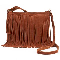 SONOMA Goods for Life™ Lexy Fringed Crossbody Bag