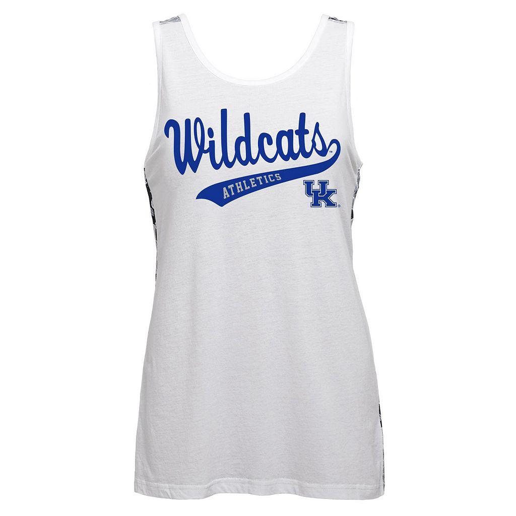 Juniors' Kentucky Wildcats Nova Tank Top