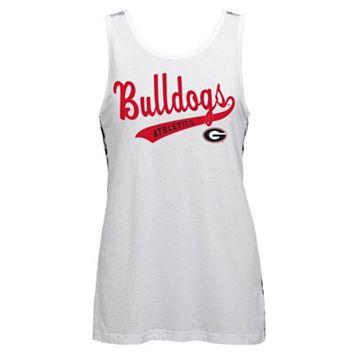 Juniors' Georgia Bulldogs Nova Tank Top