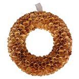Lloyd & Hannah Wood Curl Wreath