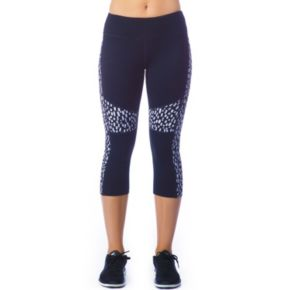 Women's PL Movement by Pink Lotus Chic Graphic Yoga Capris