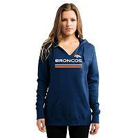 Women's Majestic Denver Broncos Self Determination Hoodie