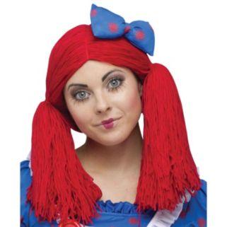 Adult Raggedy Ann Costume Wig