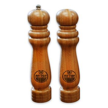 Edmonton Oilers Salt Shaker & Pepper Mill Set
