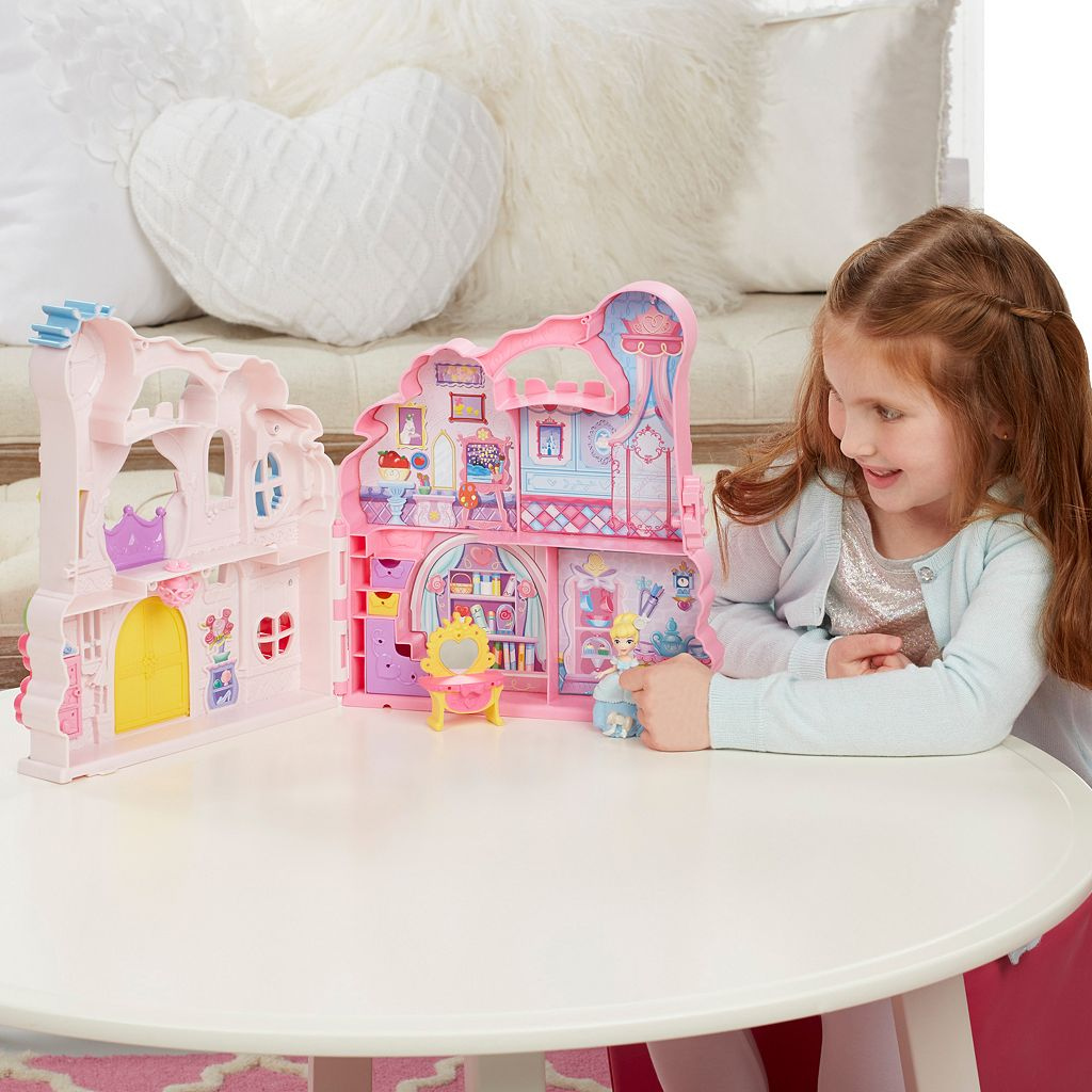 Disney Princess Little Kingdom Play 'n Carry Castle by Hasbro