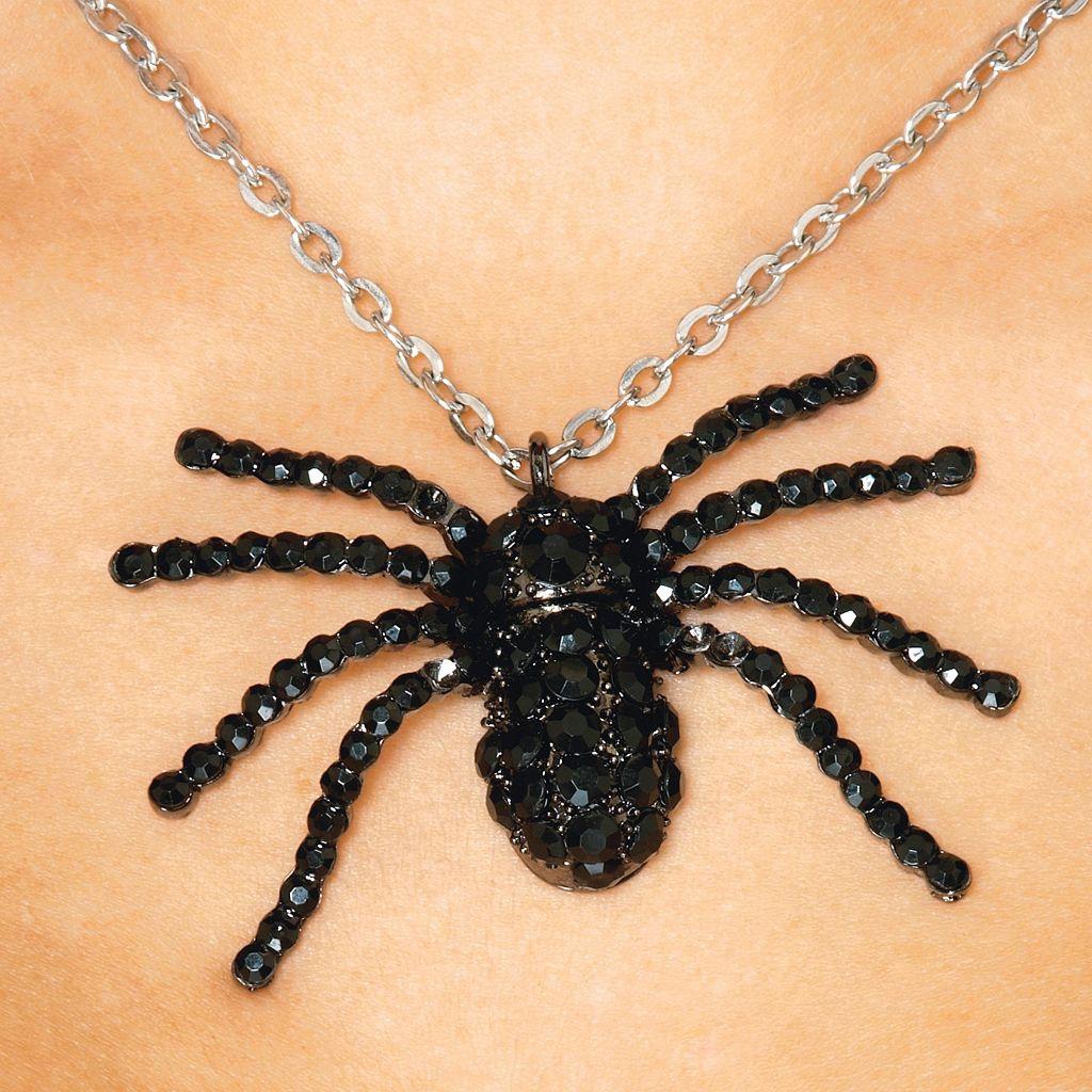 Adult Deluxe Black Widow Costume Necklace