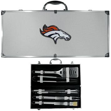 Denver Broncos 8-Piece BBQ Set