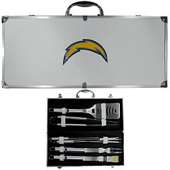 San Diego Chargers 8 pc BBQ Set