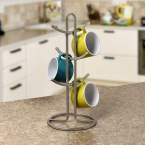 Spectrum Euro Square Coffee Mug Tree