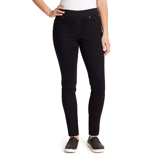 Petite Gloria Vanderbilt Avery Pull-On Skinny Pants