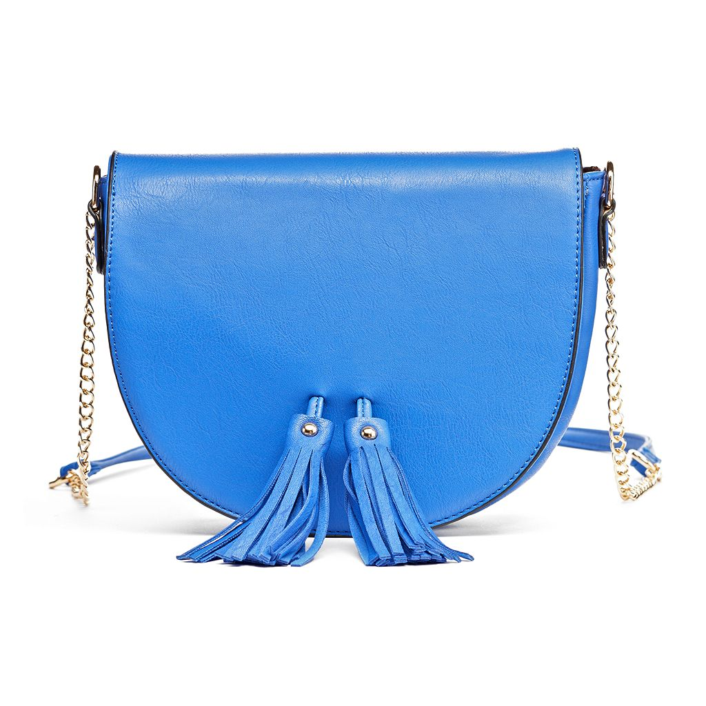 Olivia Miller Neilla Tassel Saddle Crossbody Bag