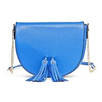 Olivia Miller Neilla Tassel Saddle Crossbody Bag