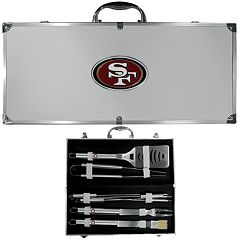 San Francisco 49ers 8-Piece BBQ Set