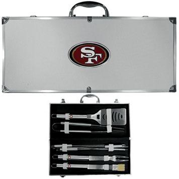 San Francisco 49ers 8-Piece BBQ Set