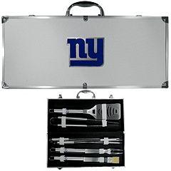 New York Giants 8-Piece BBQ Set