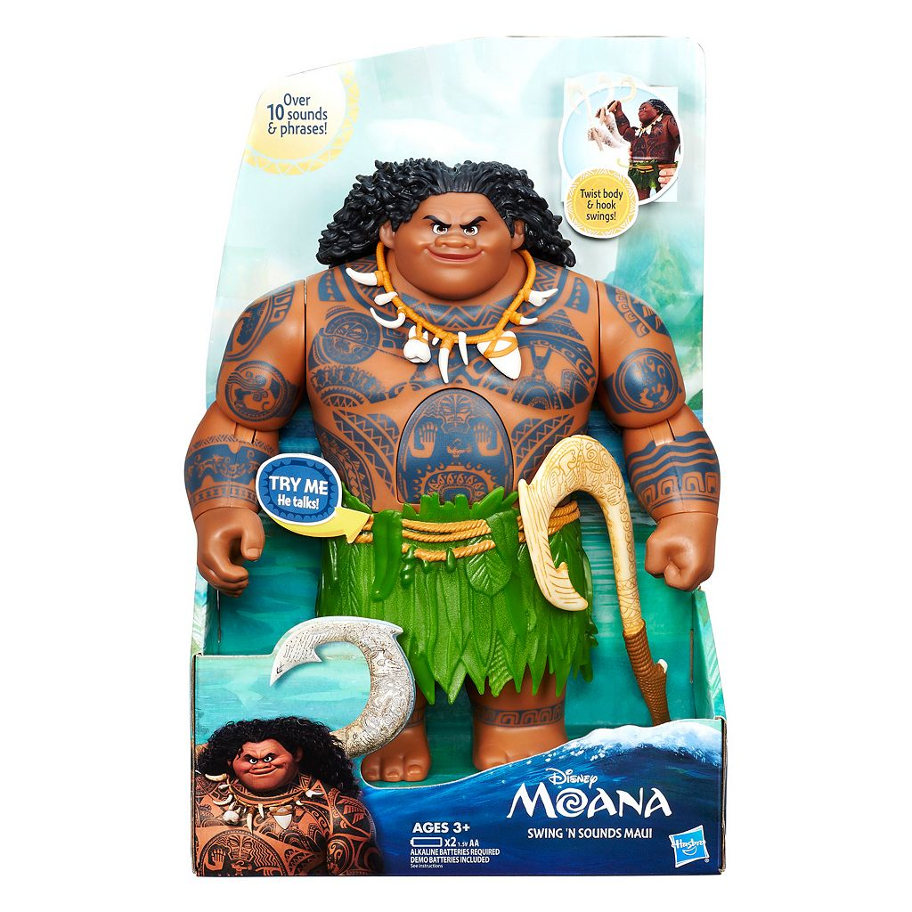 Disney's Moana Swing 'n Sounds Maui by Hasbro