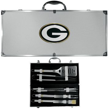 Green Bay Packers 8-Piece BBQ Set