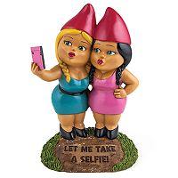 BigMouth Inc. Selfie Sisters Garden Gnome