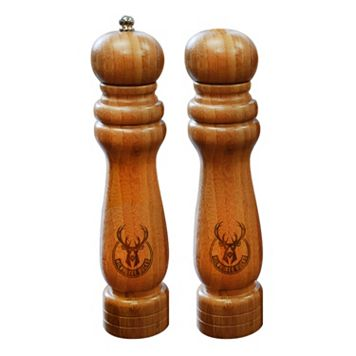 Milwaukee Bucks Salt Shaker & Pepper Mill Set