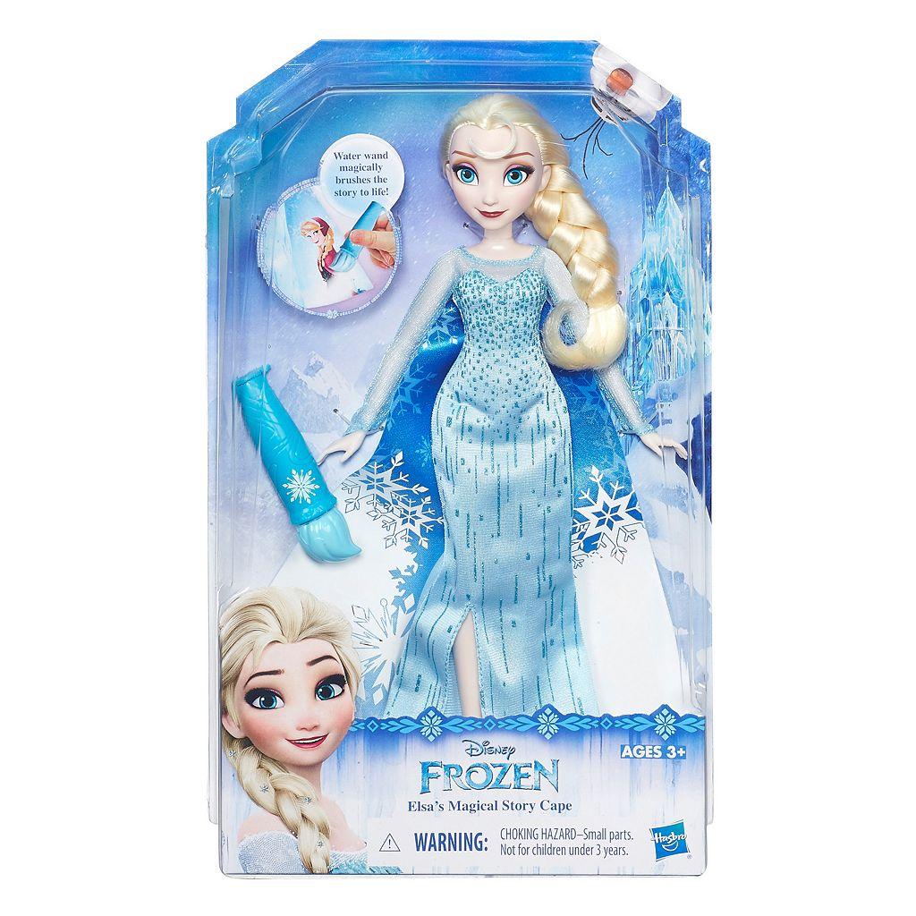 Disney's Frozen Elsa's Magical Story Cape by Hasbro