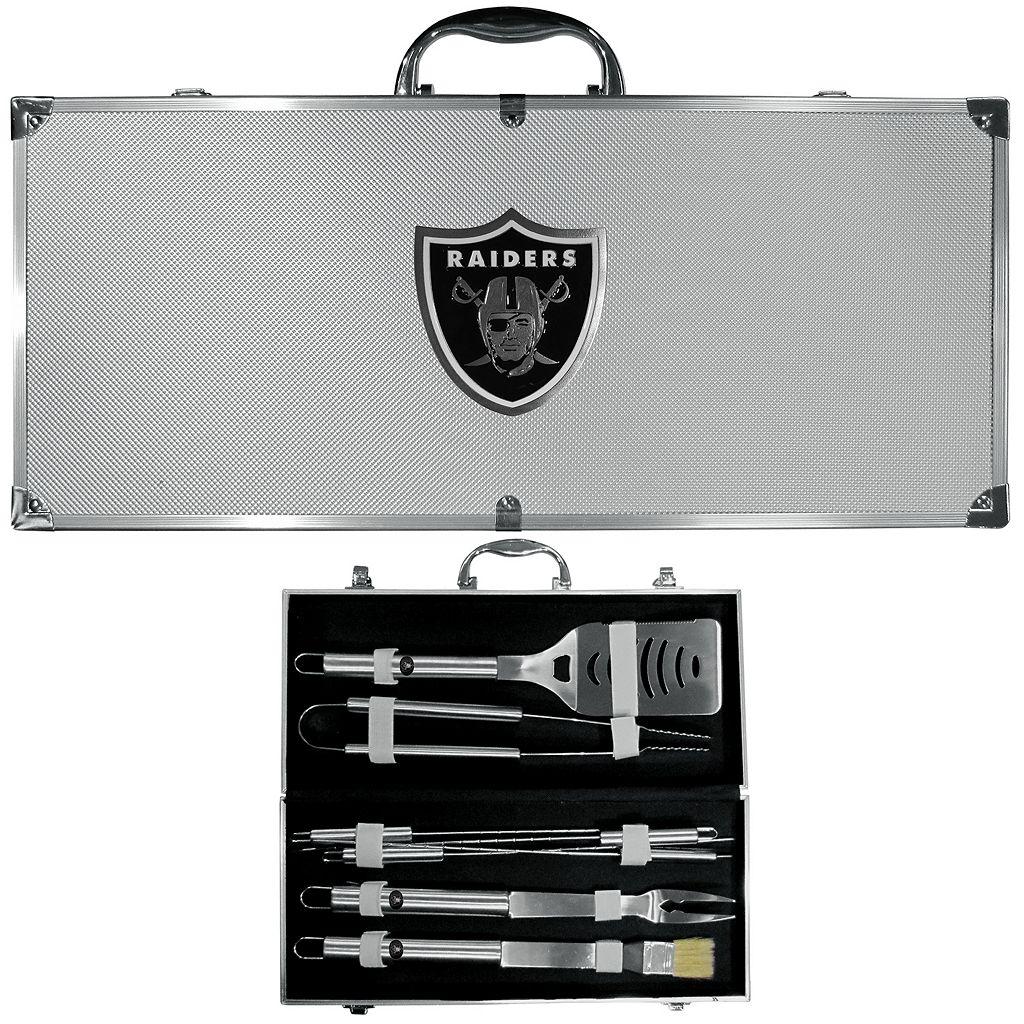 Oakland Raiders 8-Piece BBQ Set