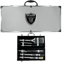 Oakland Raiders 8-Piece BBQ Set