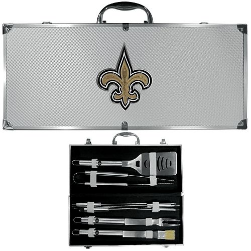New Orleans Saints 8-Piece BBQ Set