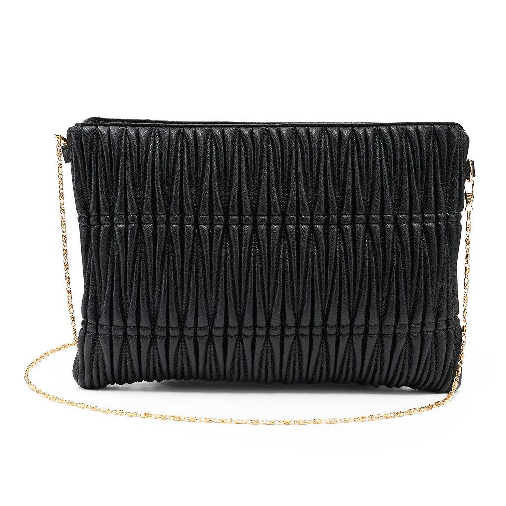 Olivia Miller Lali Pleated Crossbody Bag