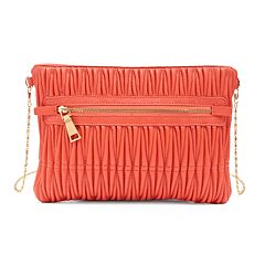 Olivia Miller Lali Pleated Crossbody Bag