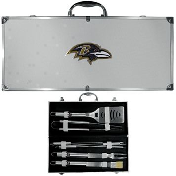 Baltimore Ravens 8-Piece BBQ Set