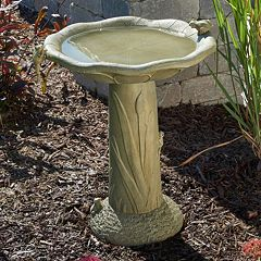 Smart Living Acadia Traditional Birdbath