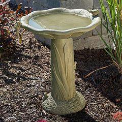 Click here to buy Smart Living Acadia Traditional Birdbath.