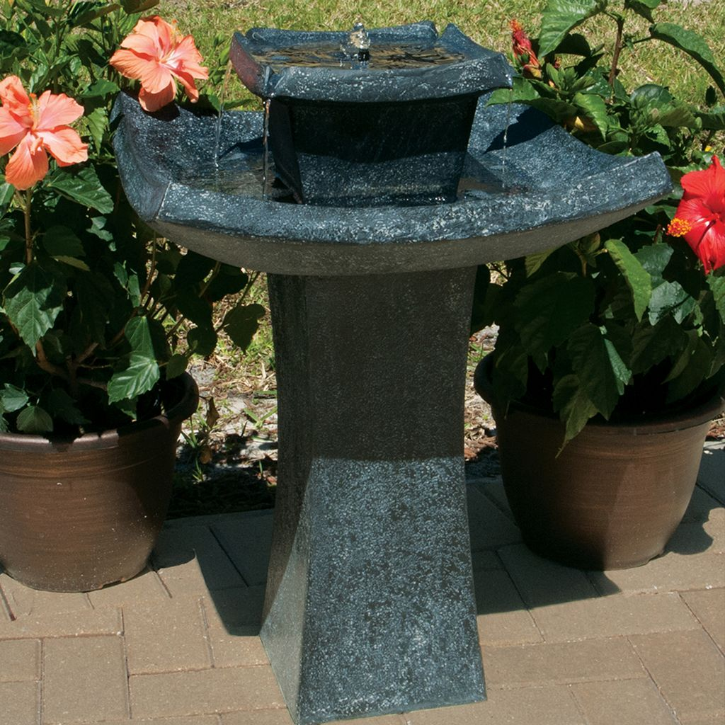Smart Living Mahayana 2-Tier Solar Fountain