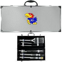 Kansas Jayhawks 8-Piece BBQ Set