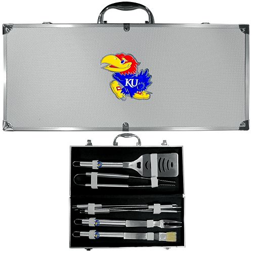 Kansas Jayhawks 8-Piece BBQ Set