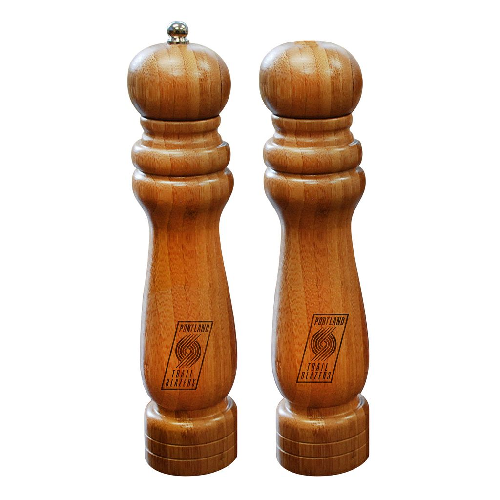 Portland Trail Blazers Salt Shaker & Pepper Mill Set