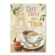 Trademark Fine Art Cafe in Europe II Canvas Wall Art