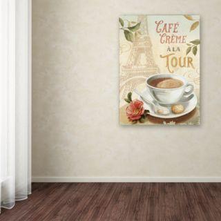 Trademark Fine Art Cafe in Europe II Canvas Wall Art