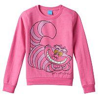 Disney's Alice in Wonderland Cheshire Cat Girls 7-16 Fleece-Lined Top