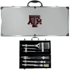 Texas A&M Aggies 8 pc BBQ Set