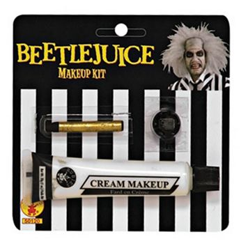 Adult Beetlejuice Costume Makeup Kit