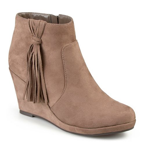 Journee Collection Ela Women's Wedge Ankle Boots