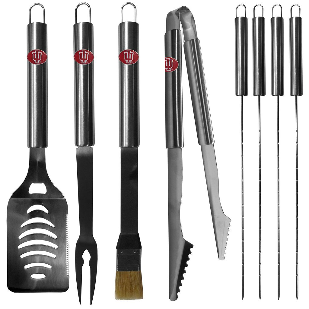 Indiana Hoosiers 8-Piece BBQ Set