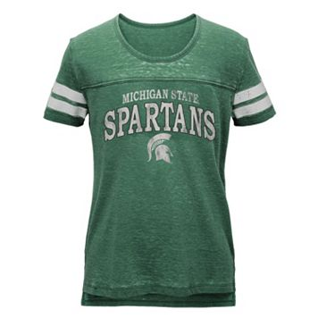 Juniors' Michigan State Spartans Throwback Tee