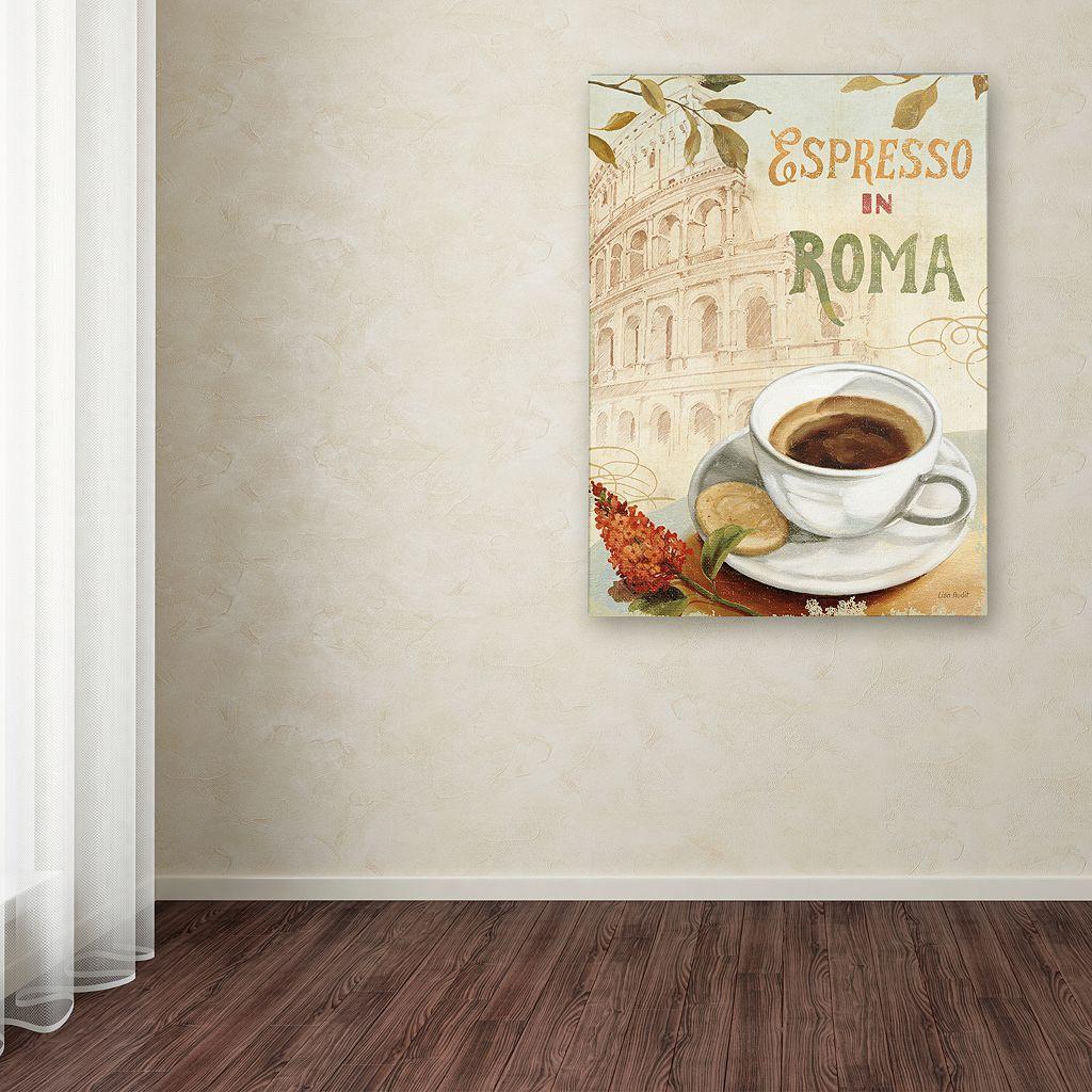 Trademark Fine Art Cafe in Europe III Canvas Wall Art