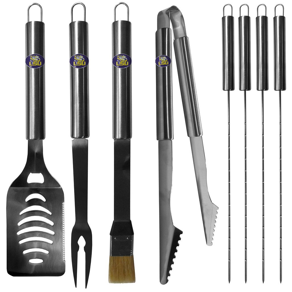 LSU Tigers 8-Piece BBQ Set