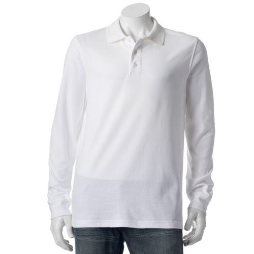 Men's Croft & Barrow® Classic-Fit Easy-Care Pique Polo