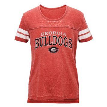 Juniors' Georgia Bulldogs Throwback Tee