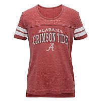 Juniors' Alabama Crimson Tide Throwback Tee