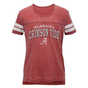 Juniors' Alabama Crimson Tide Throwback Tee